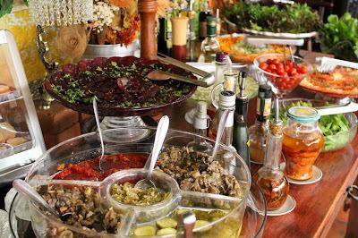 Entradas e Saladas Leves e Especiais para o Final de Ano!