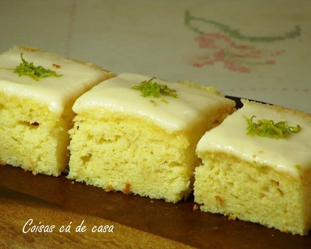 cobertura para bolo de limão com açucar bem durinha