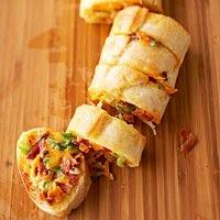 Pão de Cheddar e Bacon