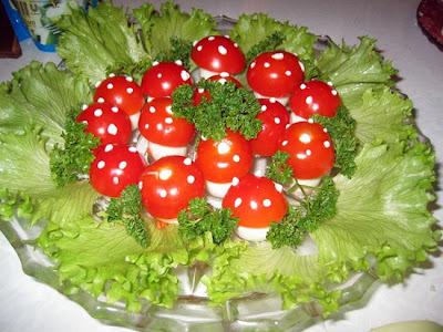 "Salada Snack ""Muhomorchiki"""