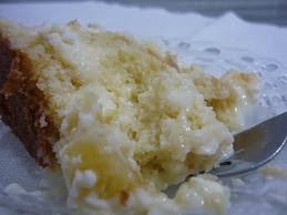 bolo de abacaxi caramelizado de liquidificador