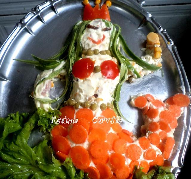 Salada Pequena Sereia