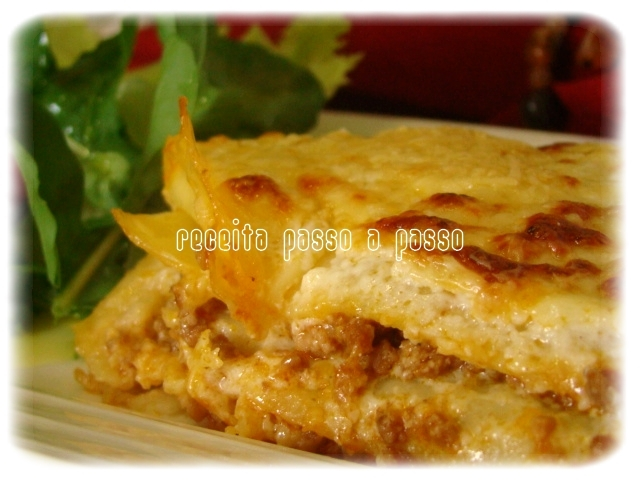 Lasanha a Bolonhesa / Lasagne alla Bolognese