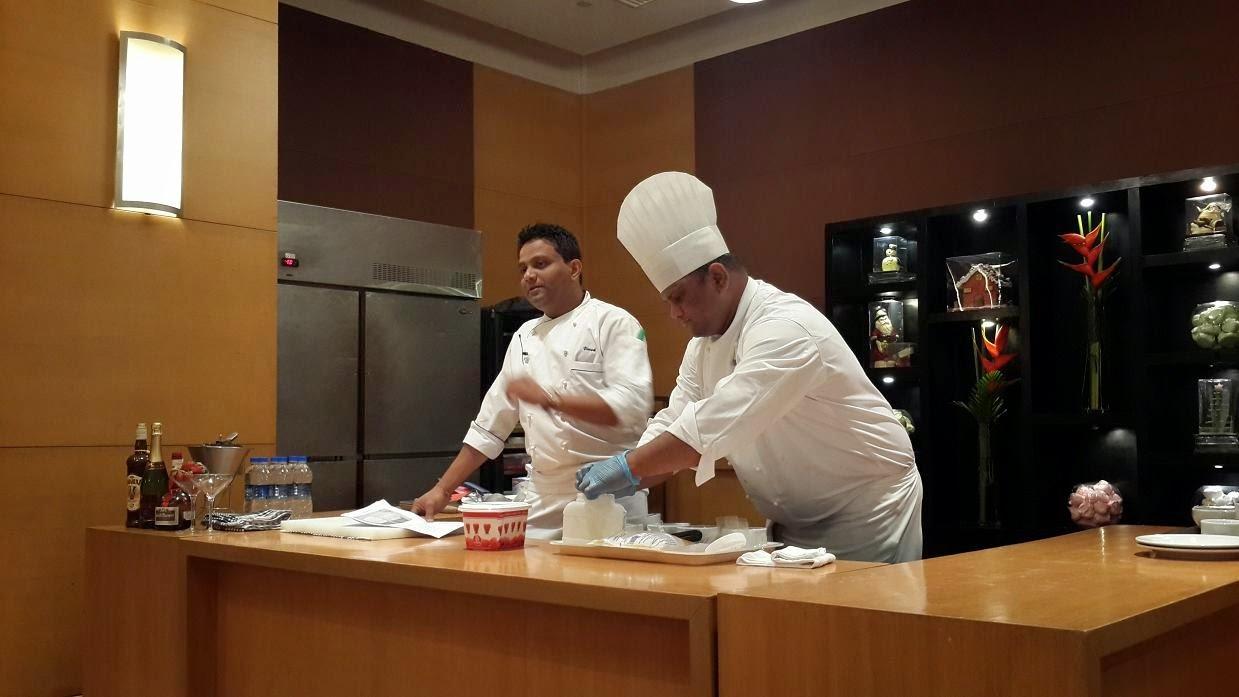 Workshop on European Desserts by Chef Vivek Kadam