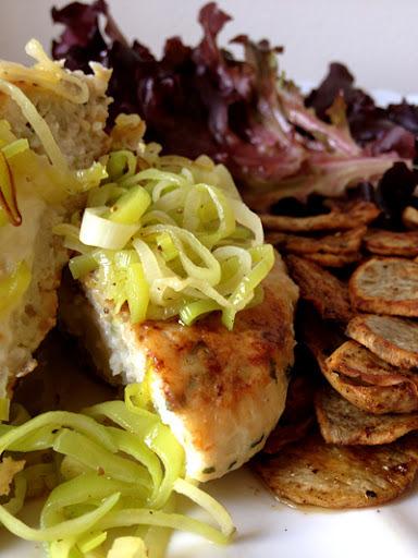 Hambúrguer de Frango com Alho-Poró & Taste It