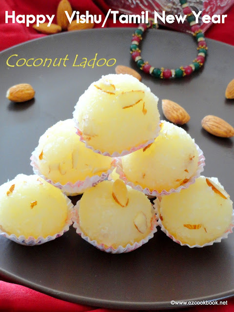 Coconut Ladoo | Special Recipes To Celebrate Vishu and Tamil New Year