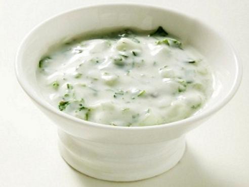Salsa de yogur natural super facil