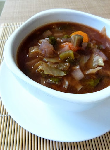 Receita: sopa detox (dieta dos 7 dias)