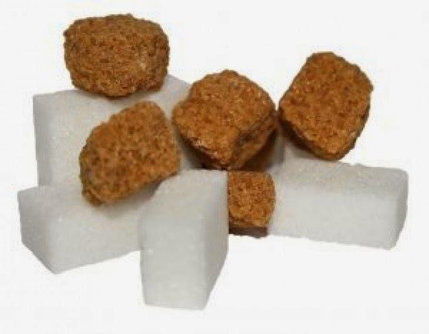 Açúcar mascavo x Açúcar refinado