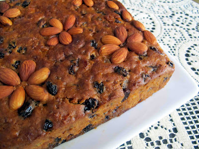 Whiskey/Brandy Celebration Fruit Cake