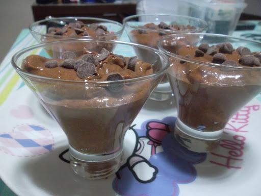 MOUSSE CROCANTE DE CHOCOLATE