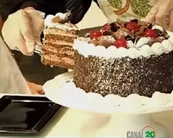 Bolo mousse de chocolate de Isamara Amâncio