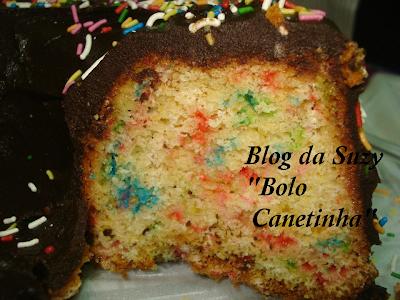 Bolo Canetinha