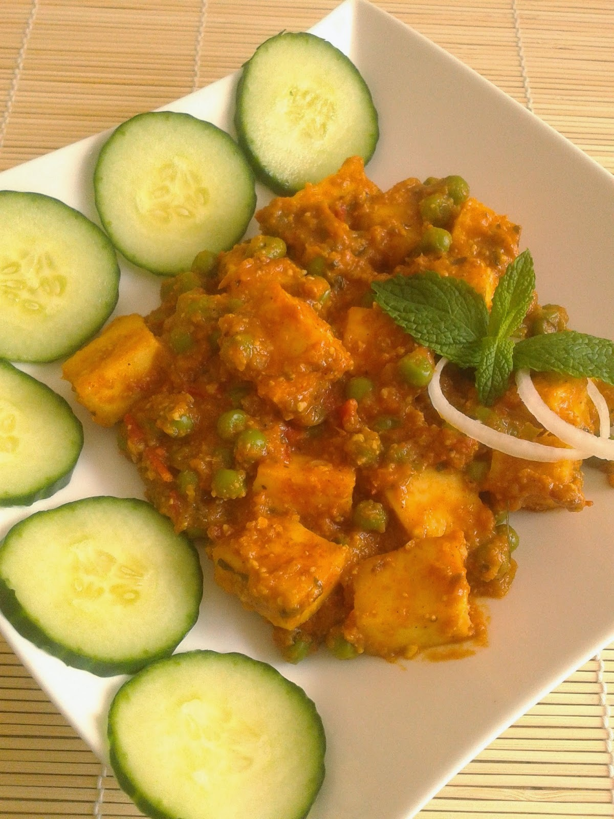 Recipe of Matar Paneer | How to Make Matar Paneer