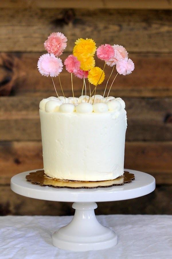 6 decoraciones originales para pasteles