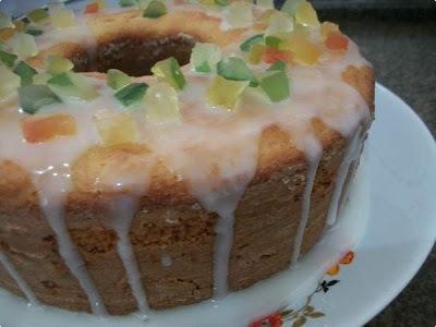 cobertura para bolo com margarina e açucar de confeiteiro