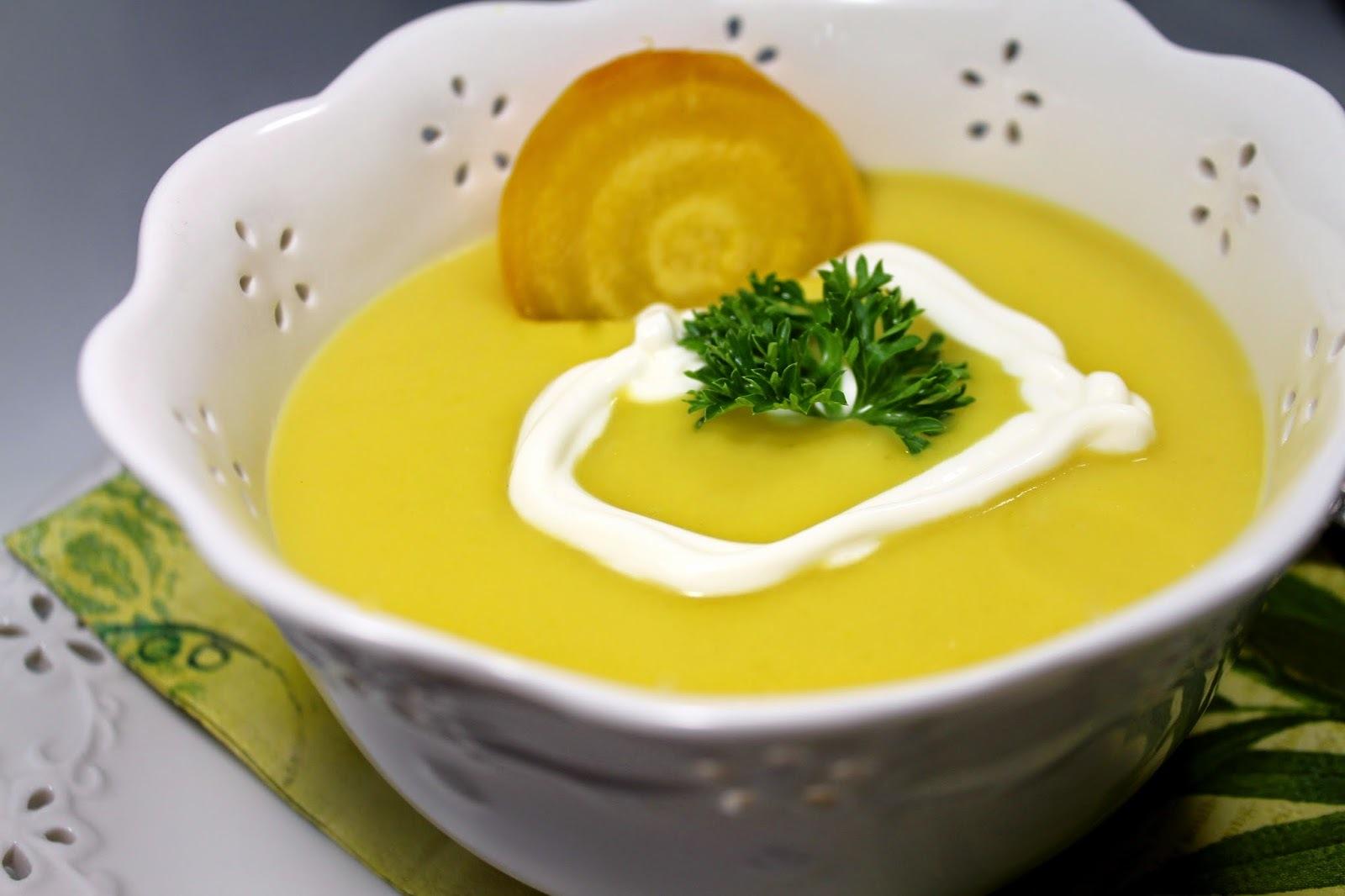 Povrtna čorba sa cveklom ( Heartbeet soup )