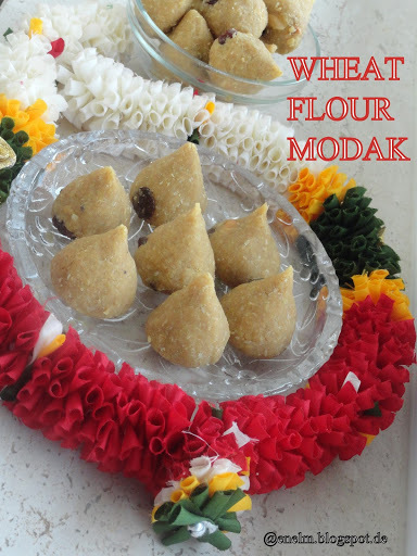 Wheat Flour Modak