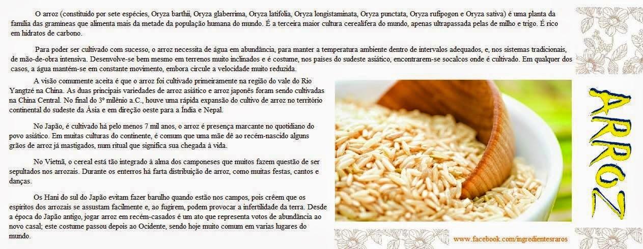 DICA FUNCIONAL - Mais tipos de arroz