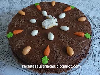 BOLO DE CENOURA - Möhrenkuchen