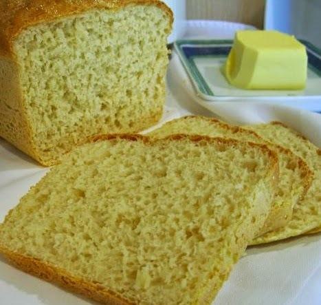 pao de farinha de milho amarela