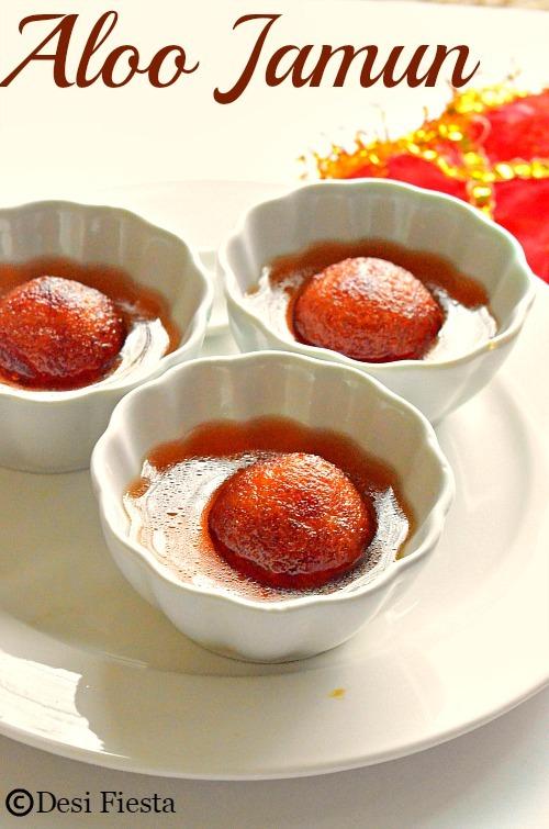 Aloo Gulab Jamun |Potato Gulab Jamun ~Diwali Recipes