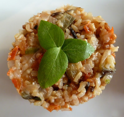 Salada de Arroz Italiana