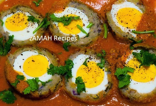 How to make Nargisi Kofta? Mughlai Cuisine Recipe