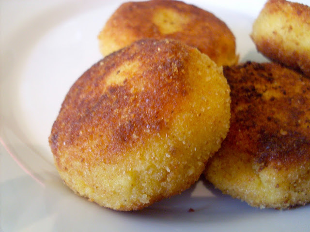 Beignets de semoule au fromage