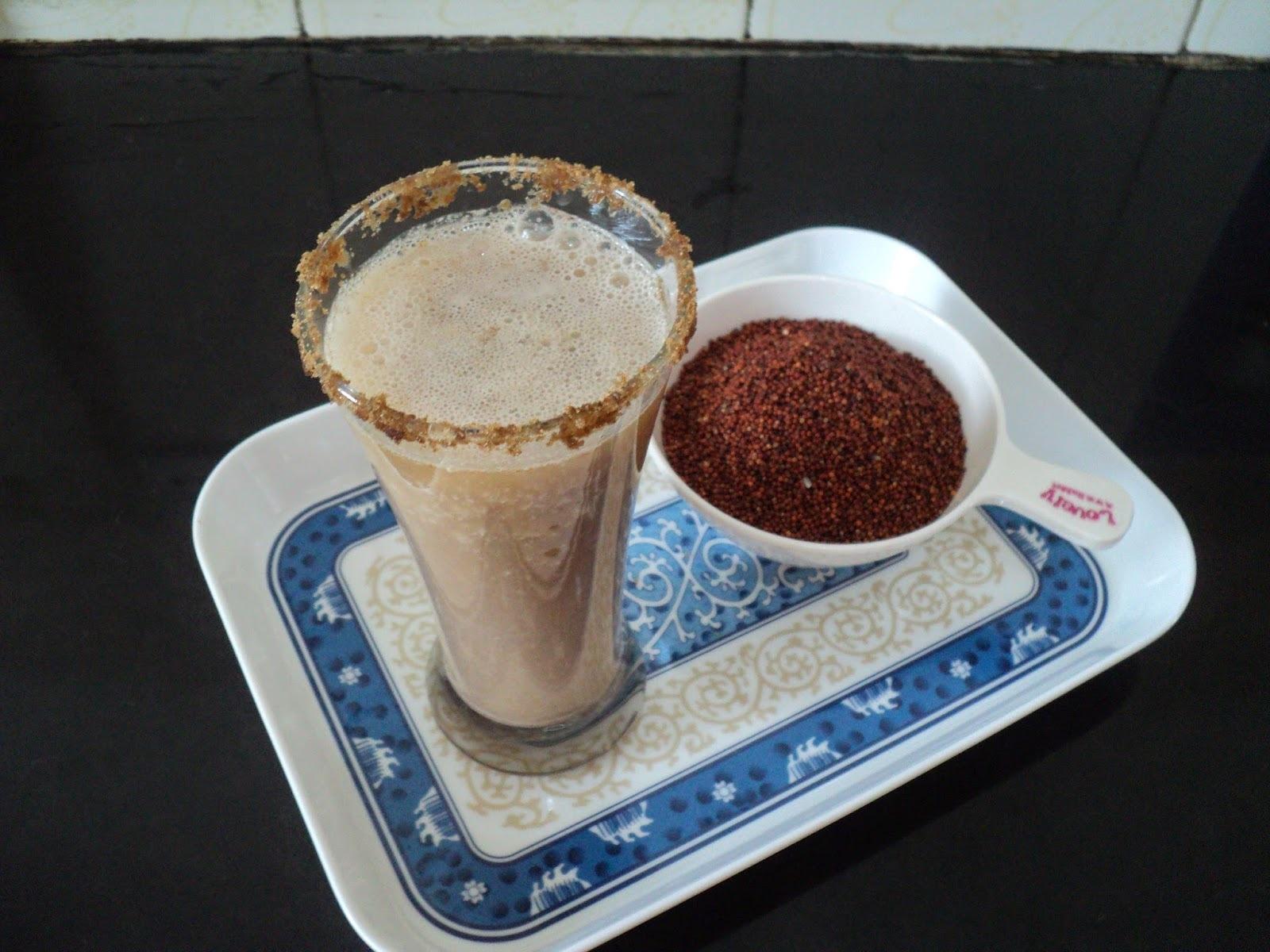 Mandiya Sharbat (Ragi/Finger Millet drink)