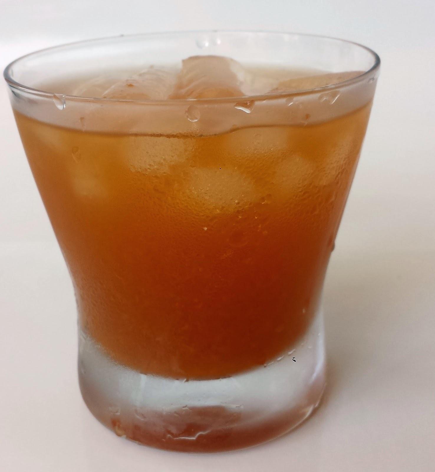 Barackos jeges tea (tej és tojásmentes)
