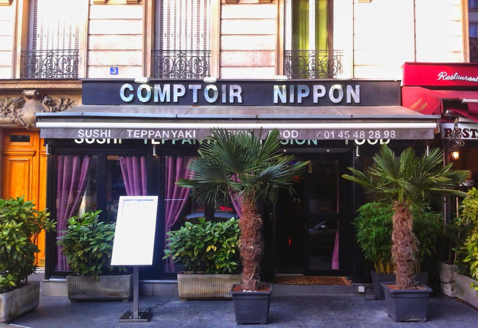 C122 - Au Comptoir Nippon