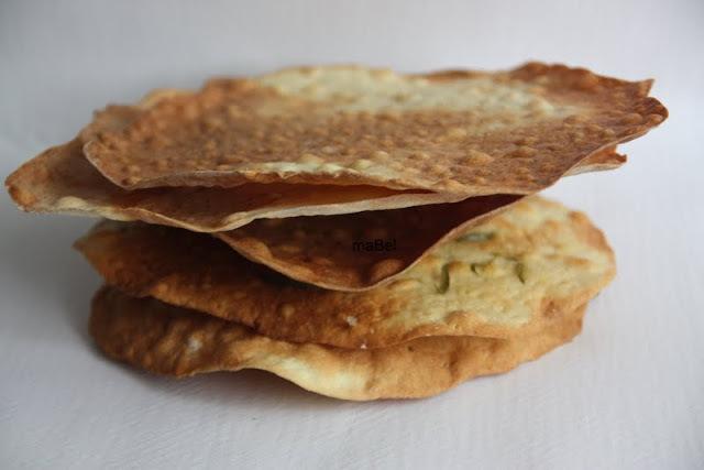 Regañás - Pan plano crocante