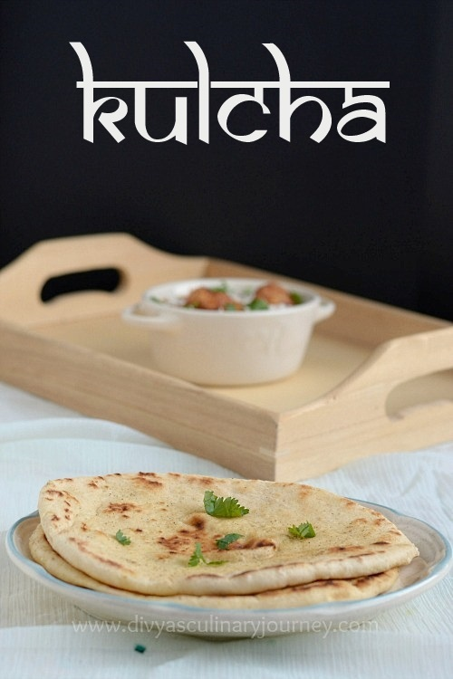 Kulcha Recipe | Easy recipe for home made Kulcha | How to make soft Kulcha ?