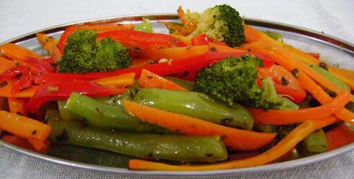 refogado de casca de legumes