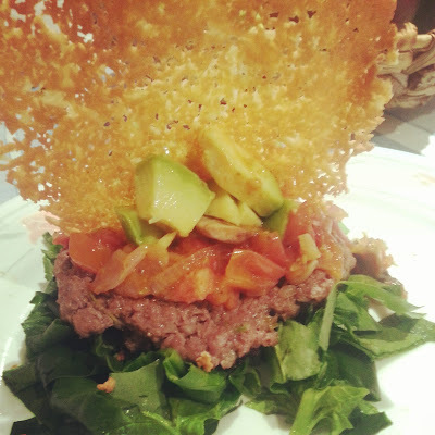 Ensalada de hamburguesa