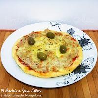 Pizza de Liquidificador na AirFryer