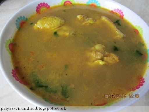 garlic soup indian