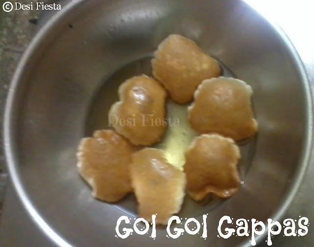 Gol Gol Gappas (Come on - Lets Cook Buddies) Entry 35