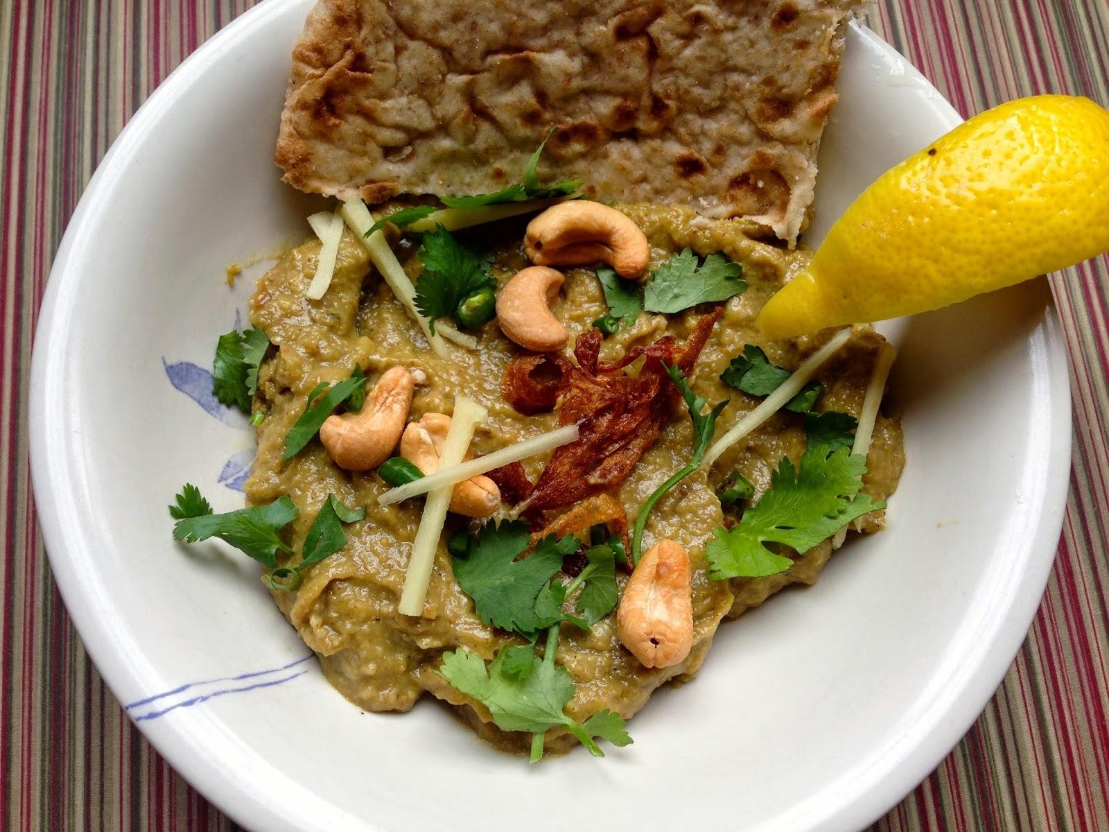 Vegetarian Haleem