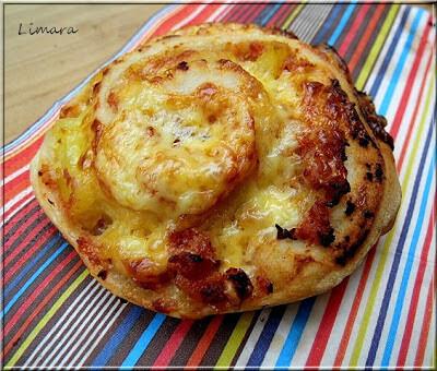Pizzás csiga (az ÁLOM péksüti? )