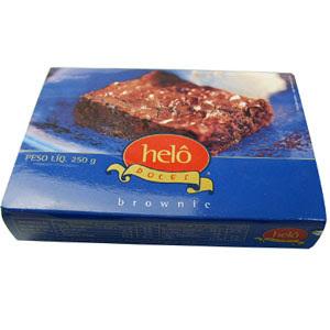 Eu provei e aprovei: brownie da Helô doces