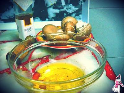Hamburguesas de hongos portobello