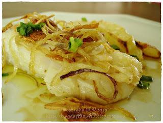 Bacalhau a Provençal com Batatas ao Forno