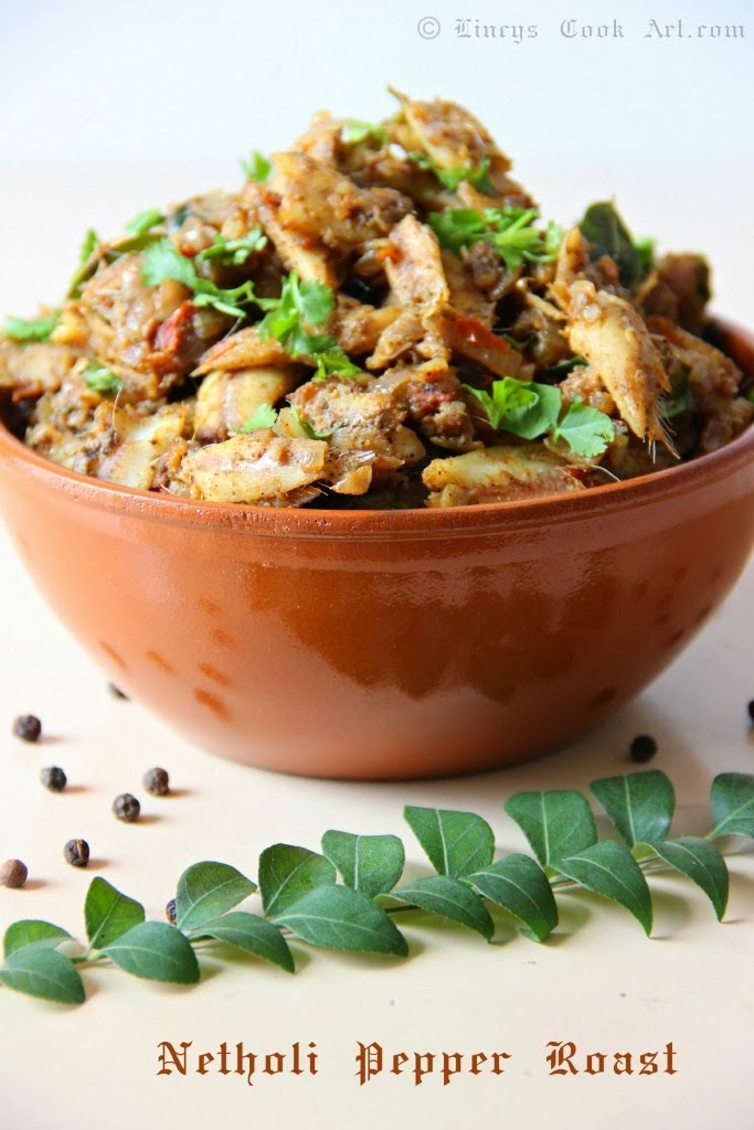 Netholi Pepper Roast/ Anchovy Pepper Roast