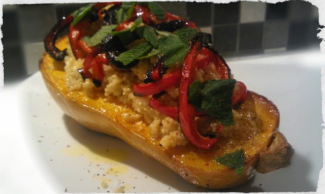 quinoa and gem squash