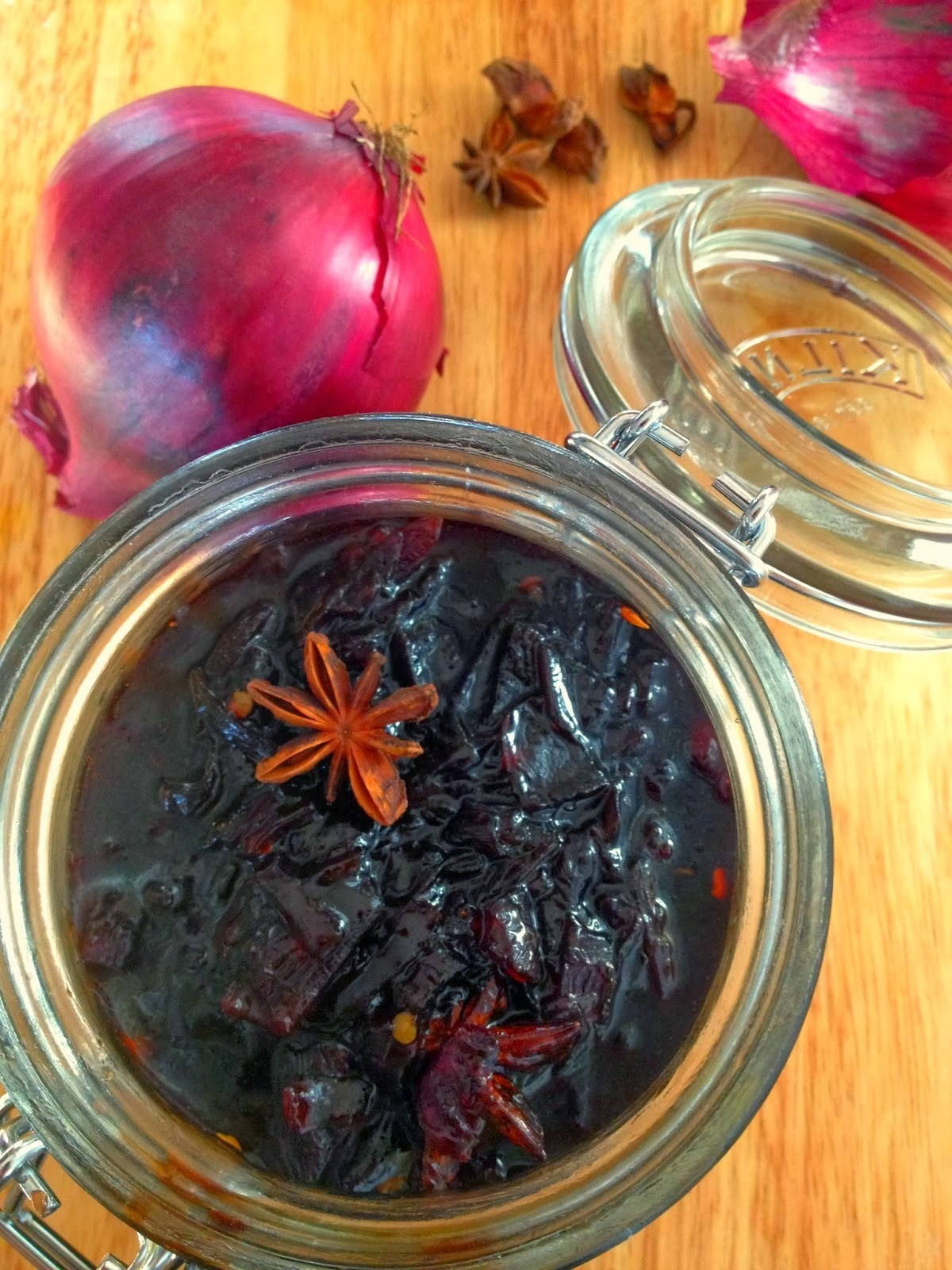 Chutney de cebola roxa