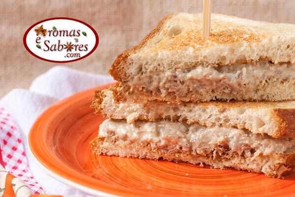 sanduiche de pate para festas