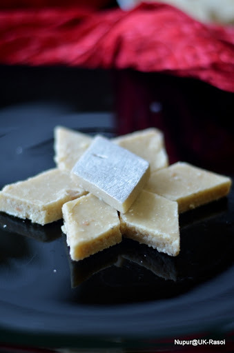 Super Easy Kaju Katli - And some glimpse from Diwali this year