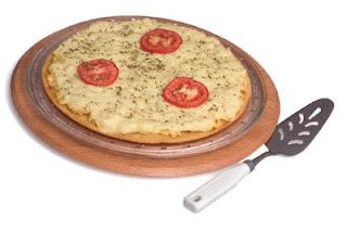 Pizza crocante